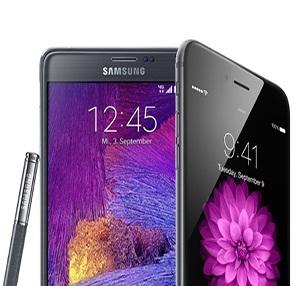 iPhone 6 Plus, Galaxy Note 4'e Karşı!