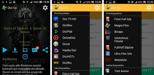 dizi cu 2 android - Dizi Cu Android Dizi Film Uygulaması