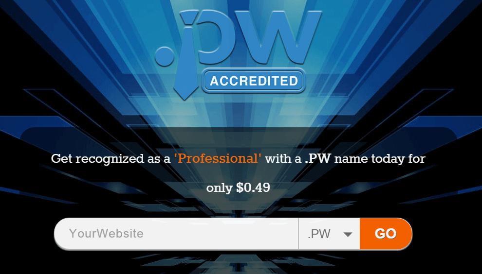 pw domain - Ücretsiz .pw Domain Almak