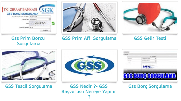 gsssorgula - E-Devlet ve E-İmza ile GSS Sorgulama