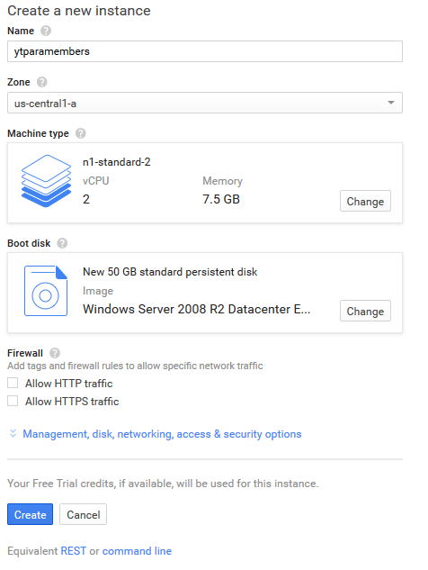 vds3 - 4 TL 'ye 2 Aylık Google VDS Alın !