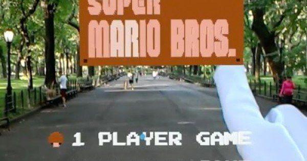 Hololens İle Super Mario Oynanınca!